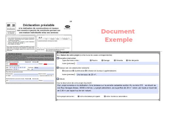 Formulaire Cerfa pour la déclaration de travaux