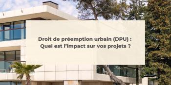 Droit de préemption urbain