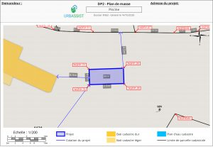 DP2.1 : Plan de masse OSM