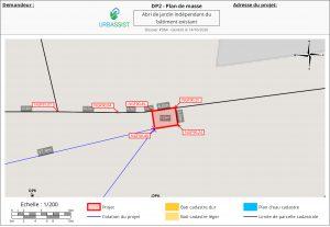 DP2 - Plan de masse - déclaration préalable