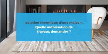 travaux isolation thermique maison