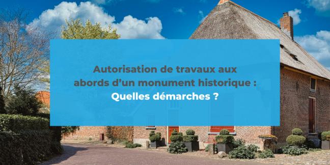 travaux abords monument historique