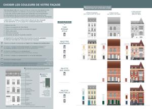 charte couleurs des façades à Lille