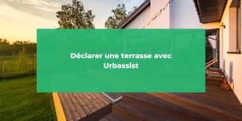 Déclarer une terrasse avec Urbassist