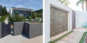 idées-clôture-de-jardin-mur