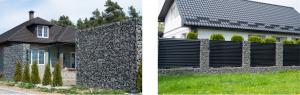 idées-de-clôture-de-jardin-mur-gabion